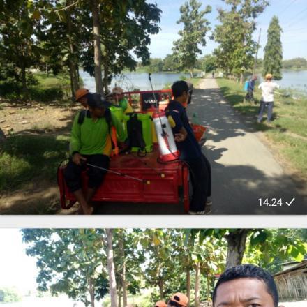 Jum'at bersih untuk desa Sudo tercinta oleh kades & katdes serta ketuaLPMD